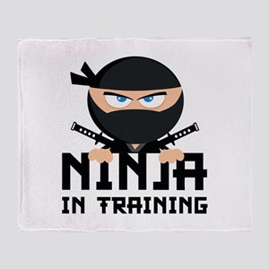 Ninja In Training Stadium Blanket