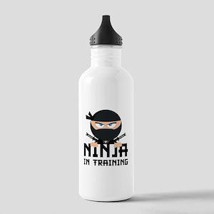 Ninja In Training Stainless Water Bottle 1.0L