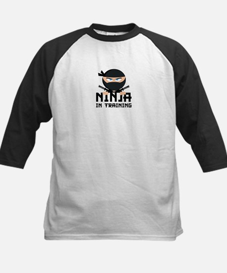 Ninja In Training Kids Baseball Jersey