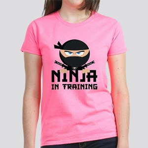 Ninja In Training Women's Dark T-Shirt
