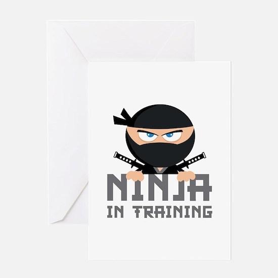 Ninja In Training Greeting Card