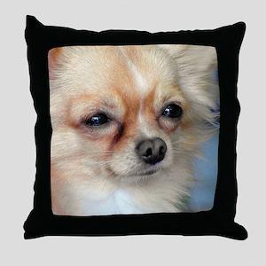 i love dog Throw Pillow