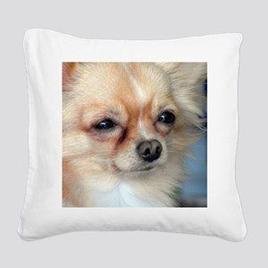 i love dog Square Canvas Pillow