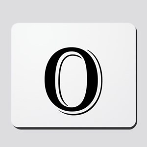 Fancy Letter O Mousepad