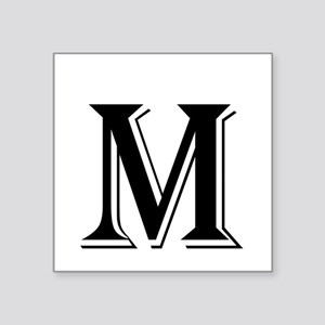 Fancy Letter M Sticker