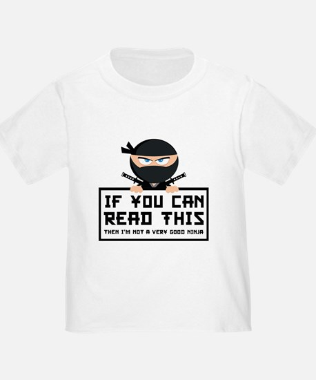 If You Can Read This T