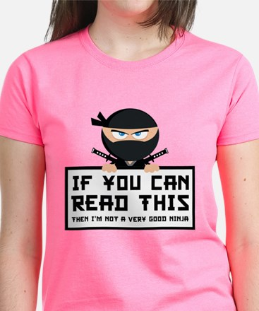 If You Can Read This Women's Dark T-Shirt