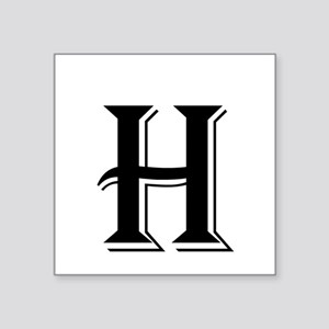 letter h stickers cafepress