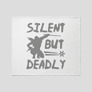 Silent But Deadly Stadium Blanket