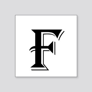 Fancy Letter F Sticker