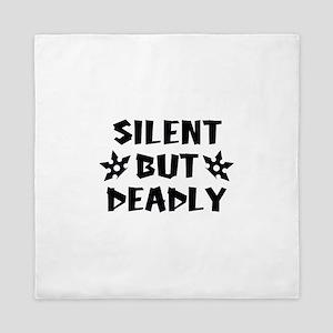 Silent But Deadly Queen Duvet