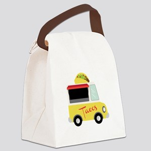Tacos Canvas Lunch Bag