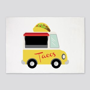 Tacos 5'x7'Area Rug