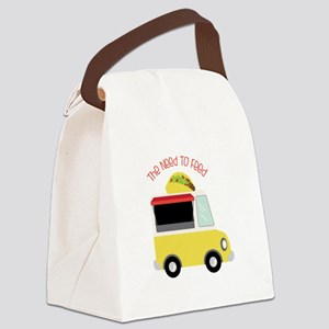 The Need To Feed Canvas Lunch Bag