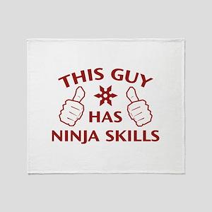 This Guy Has Ninja Skills Stadium Blanket