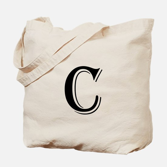 Fancy Letter C Tote Bag