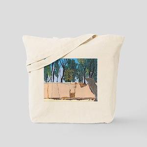 Adobe Wall #1 Tote Bag