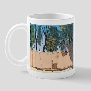 Adobe Wall #1 Mug