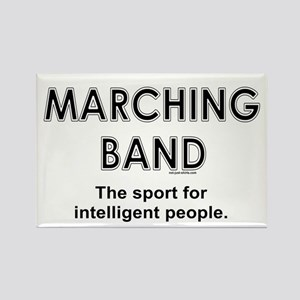 Marching Band Rectangle Magnet