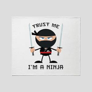 Trust Me, I'm A Ninja Stadium Blanket