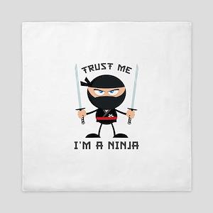 Trust Me, I'm A Ninja Queen Duvet