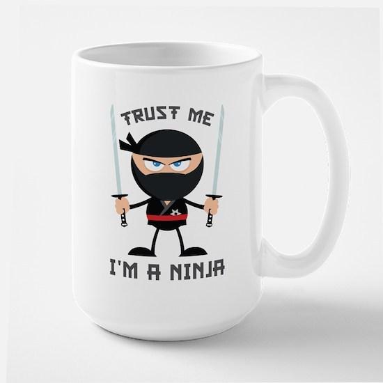 Trust Me, I'm A Ninja Large Mug