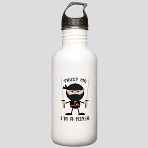 Trust Me, I'm A Ninja Stainless Water Bottle 1.0L