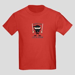 Trust Me, I'm A Ninja Kids Dark T-Shirt