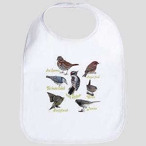Backyard Birds Bib