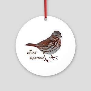 Backyard Birds Ornament (Round)