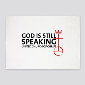 God Is Still Speaking 5'x7'Area Rug