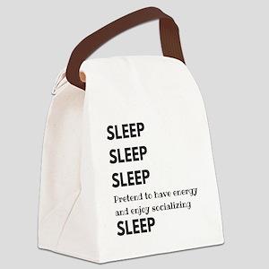 Sleep Sleep Sleep Canvas Lunch Bag