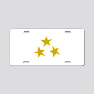 Holiday Stars Aluminum License Plate
