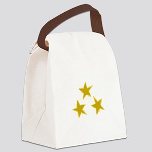 Holiday Stars Canvas Lunch Bag
