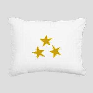 Holiday Stars Rectangular Canvas Pillow