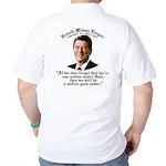 Ronald Reagan Nation under God Golf Shirt