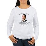 Ronald Reagan Nation under God Wmns Lng Slv T