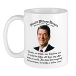 Ronald Reagan Noble Cause Mug