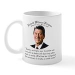 Ronald Reagan Noble Cause Mug