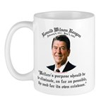 Ronald Reagan Welfare Quote Mug