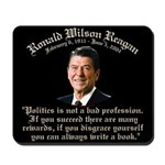 Ronald Reagan on Politics Mousepad