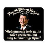 Ronald Reagan Govt. & Problems Mousepad