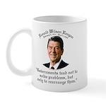 Ronald Reagan Govt. & Problems Mug