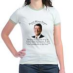 Reagan 2nd Oldest Profession Jr. Ringer T-Shirt