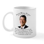 Reagan 2nd Oldest Profession Mug