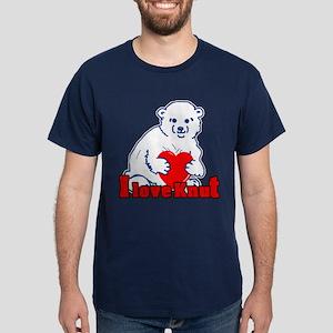 I Love Knut Dark T-Shirt