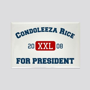 Condoleeza Rice for President Rectangle Magnet
