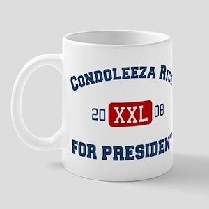 Condoleeza Rice for President Mug