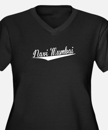 Navi Mumbai, Retro, Plus Size T-Shirt