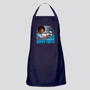 Bob Ross Apron (dark)